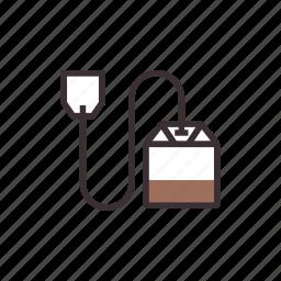 bag, tea icon