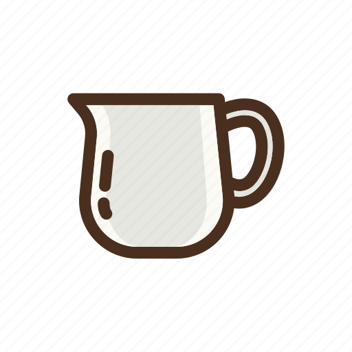 coffee, color, filled, pourover, server icon