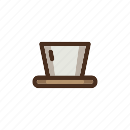 brewing, coffee, color, dripper, filled, manual, torch icon