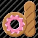 baker, bakery, donut, hospital, sweet icon