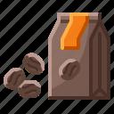 bean, coffee, hospital, seeds icon