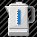 coffe, drink, hospital, hot, kettle, pot, tea icon