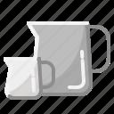 coffee, drink, hospital, jigger, measure icon