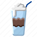 cold, drink, frappe, hospital, ice icon