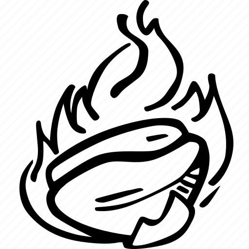 coffee, coffee bean, hand drawn, roasted coffee icon