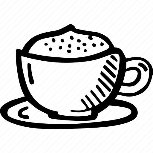 cappuccino, coffee, coffee break, cup, drink, hot, latte icon