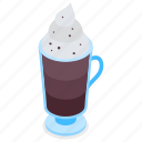 mocha, coffee, drink, cafe icon