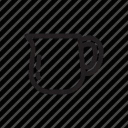 coffee, coffeeserver, drip, line, manualdrip, server icon