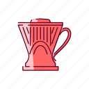 clever, coffee, drip icon