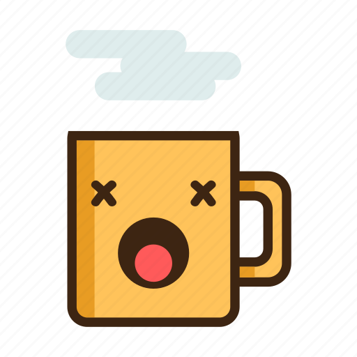 beverage, coffee, dead, hot, mug, tea, unhealthy icon