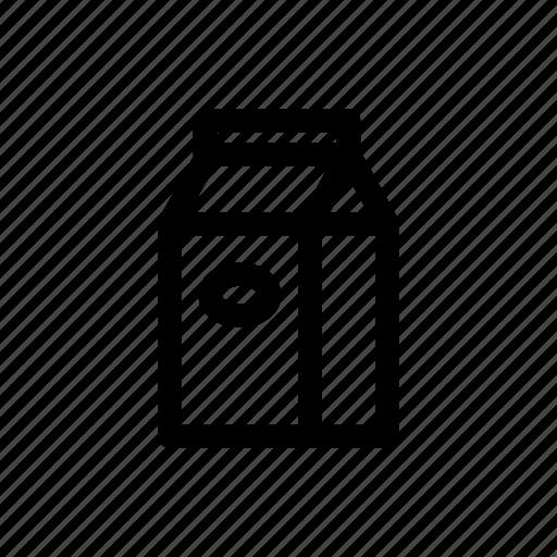 bean, coffee, coffee bag, drink, roasted coffee icon
