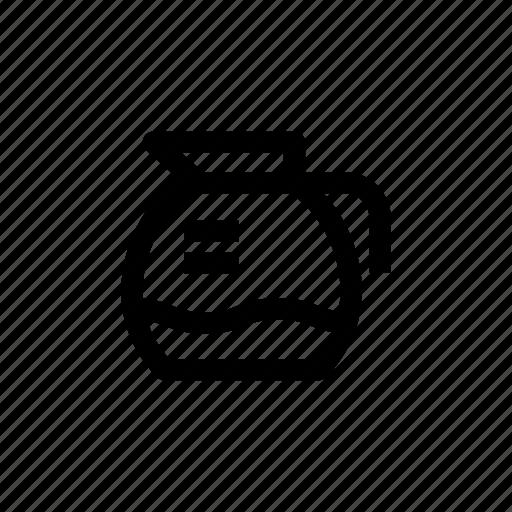cafe, coffee, coffee jar, coffee pot, pot icon