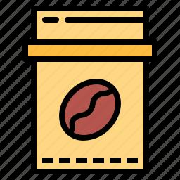 bag, beans, coffee, shop icon