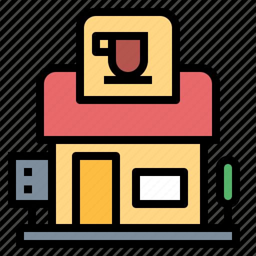 coffee, restaurant, shop, store icon