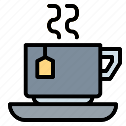 cup, drinks, hot, paper, tea icon