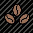 coffee, shop, beans