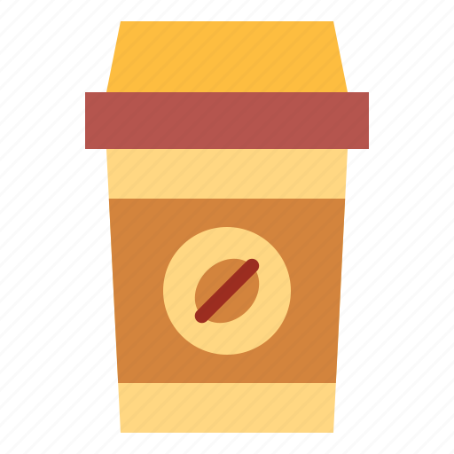 away, coffee, cup, paper, take icon