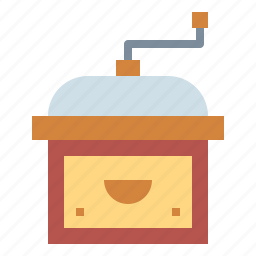 coffee, grinder, mill icon