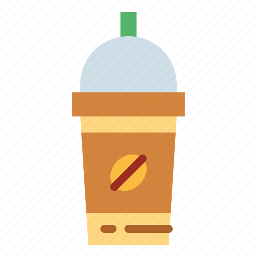 away, coffee, cup, iced, paper, take icon