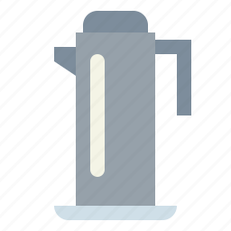 coffee, drink, hot, kettle, pot icon