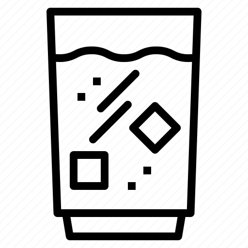 drink, glass, of, water icon