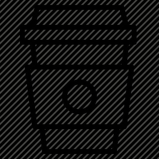 cafe, coffee, hot, menu icon