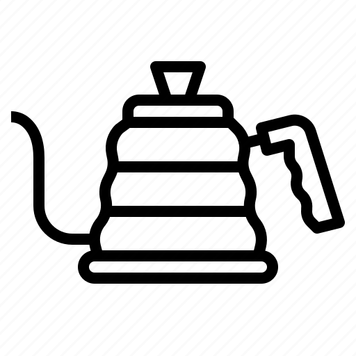 cafe, coffee, drip, kettle icon
