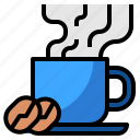 business, coffee, cup, hot, shop icon