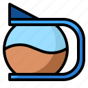 business, coffee, hot, pot, shop icon