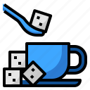 business, coffee, shop, sugar icon
