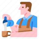 baristacoffeejobsservershop icon