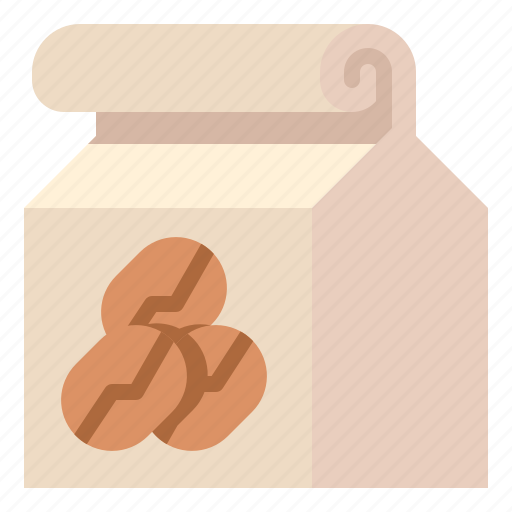 bean, business, coffee, package, roast icon