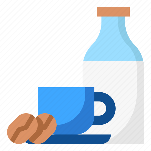 Bottle, business, coffee, cup, milk icon - Download on Iconfinder
