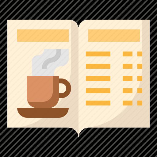 business, coffee, menu, shop icon