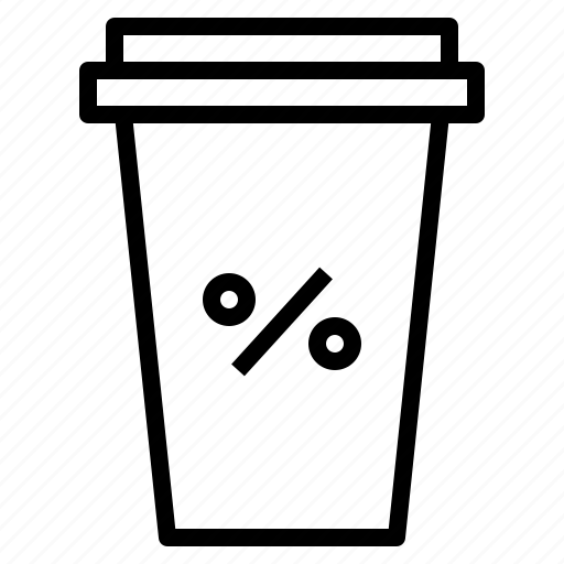 away, coffee, cup, promotion, take icon