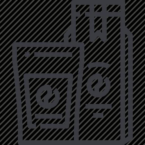 bag, coffee, pack, package, packaging, paper icon