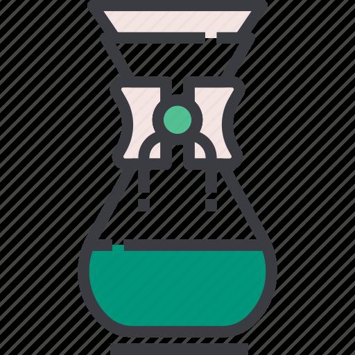 Brew, brewing, chemex, coffee, drink, espresso, maker icon - Download on Iconfinder