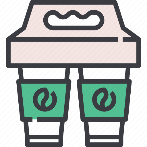 Away, breakfast, coffee, cup, drink, take, takeaway icon - Download on Iconfinder