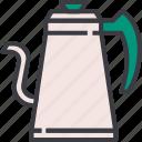 beverage, coffee, drink, hot, kettle, kitchen, vintage