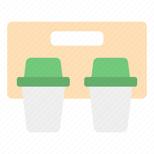 away, coffee, cup, package, paper, shop, take icon