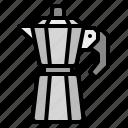 business, coffee, mocha, pot, shop icon