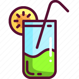 cocktail, colored, drink, party, summer icon