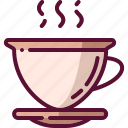 coffee, colored, cup, drink, mug icon