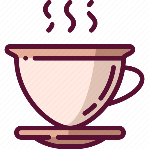 coffee, colored, cup, drink, mug icon