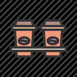 breakfast, coffees, cups, drink, espresso, hot, mugs icon