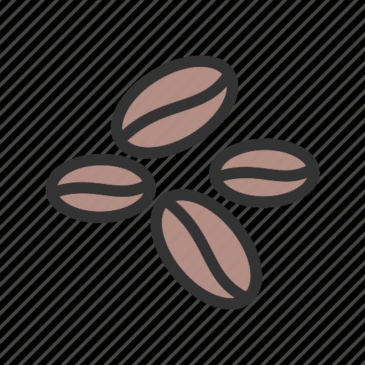 beans, coffee, food, grain, natural icon