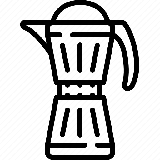 brewer, coffee, pot icon