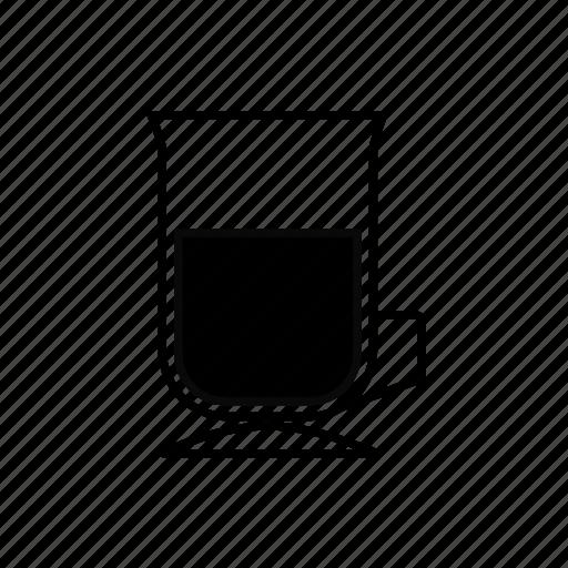 coffee, glass, irish, irish glass, latte icon