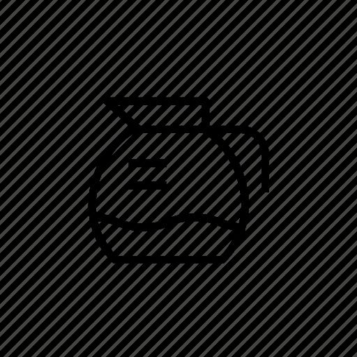 cafe, coffee, coffee jar, coffee pot, pot, pot002 icon