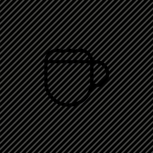 cafe, coffee, coffee cup, coffee macchiato, latte, macchiato icon